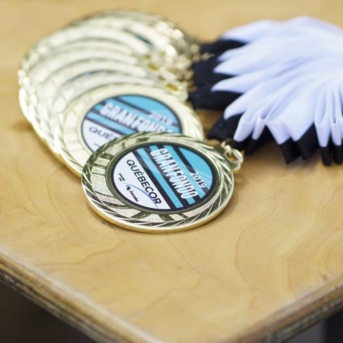 Médailles du Granfondo