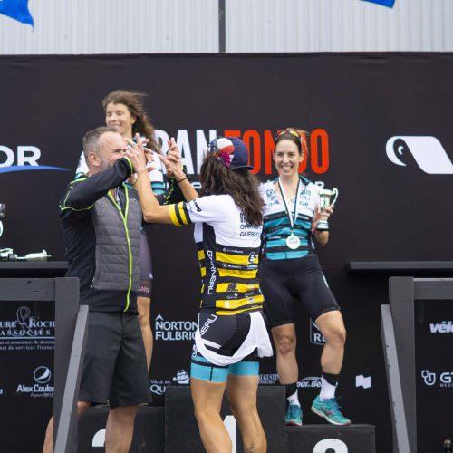 Dave Morisette félicite la championne