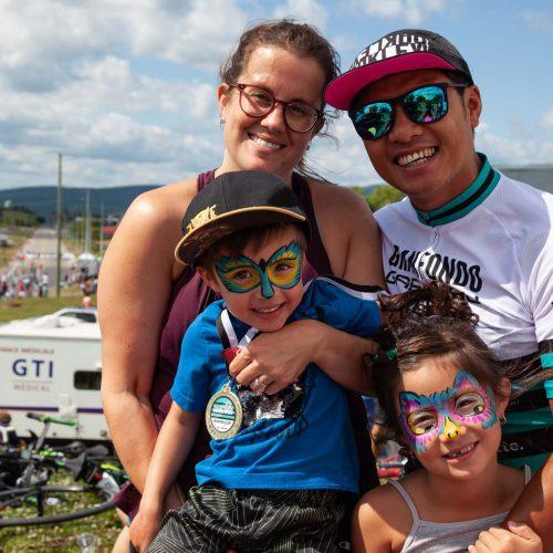 Les familles du Granfondo
